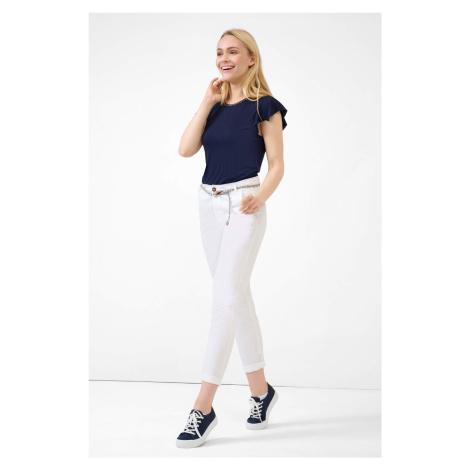 Bavlněné kalhoty s opaskem Orsay