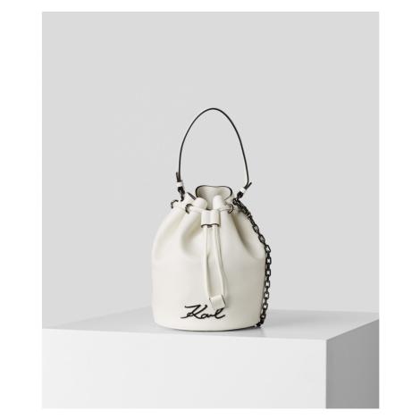 Kabelka Karl Lagerfeld Signature Bucket