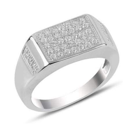 OLIVIE Pánský stříbrný prsten 3730