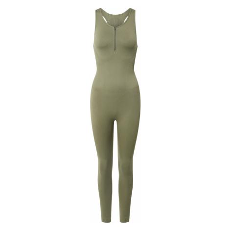 NU-IN ACTIVE Sportovní souprava 'Bodysuit' olivová
