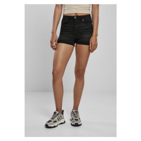 Urban Classics Ladies 5 Pocket Shorts real black washed