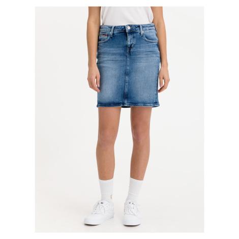 Classic Denim Sukně Tommy Jeans Modrá Tommy Hilfiger