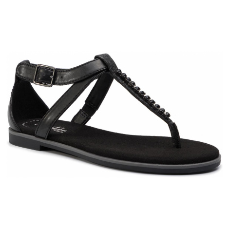 Sandály CLARKS - Bay Poppy 261421634 Black Interest