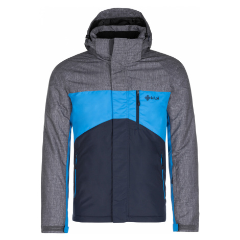 KILPI Pánská zimní bunda - větší velikosti OBER-M LMX044KIDBL Tmavě modrá