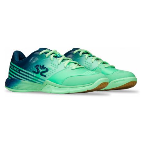 Dámská sálová obuv Salming Viper 5 Women Turquoise/Navy,