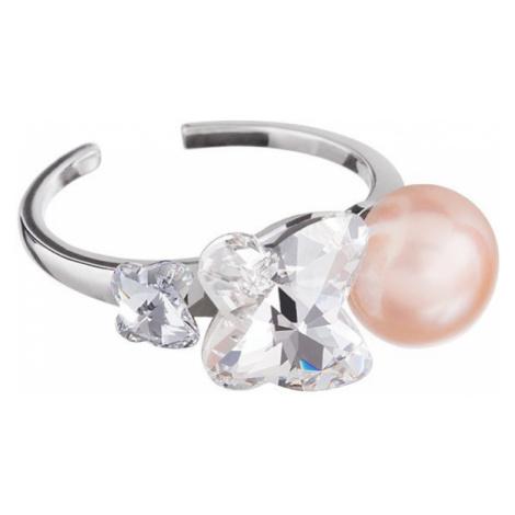 Preciosa Prsten s perlou Gentle Passion 5214 69