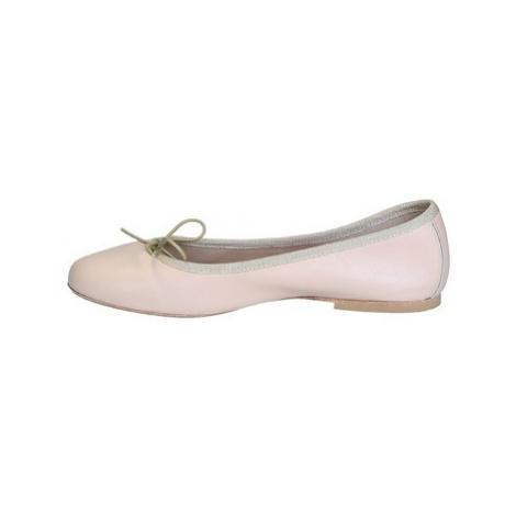 Leonardo Shoes 6087 NAPPA NUDE Růžová