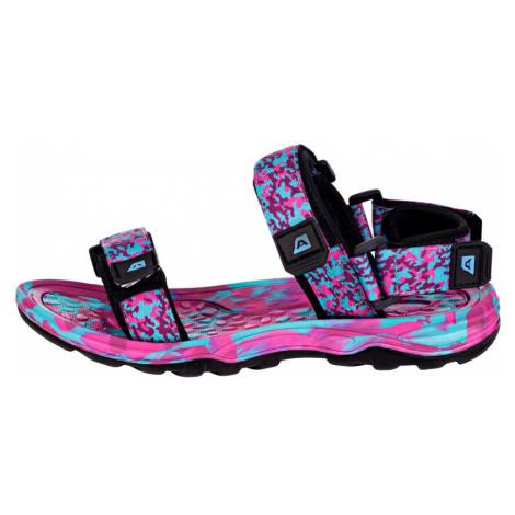 ALPINE PRO BATHIALY Unisex sandály UBTN167415 Fuchsiová růžová