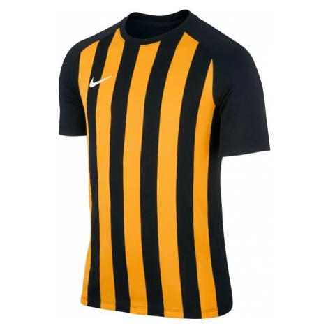 Dětský dres Nike Striped Segment III Černá / Žlutá