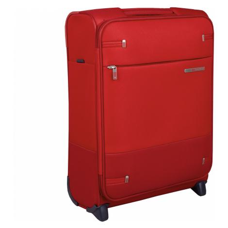 Červený cestovní kufr malý Samsonite