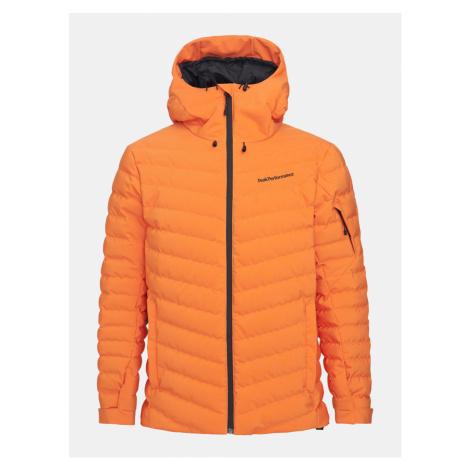 Bunda Peak Performance M Frost Ski Jacket - Oranžová
