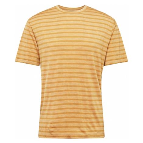Icebreaker Funkční tričko 'Utility Explore' béžový melír / tmavě béžová Icebreaker Merino