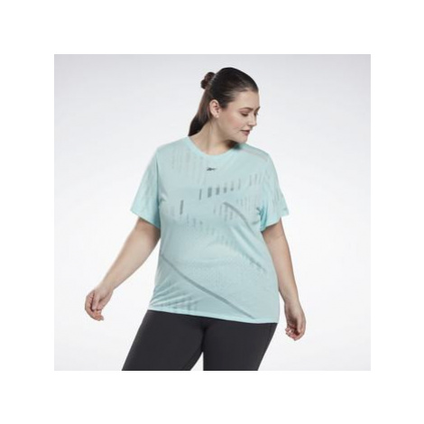 Reebok Sport Burnout T-Shirt (Plus Size) Modrá