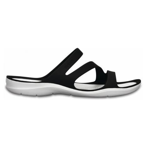 Crocs Swiftwater Sandal W - Black/White W9