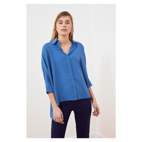 Dámska košile Trendyol Asymmetric