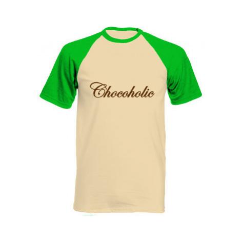 Pánské tričko Baseball Chocoholic