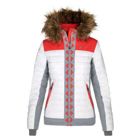 KILPI Dámská lyžařská bunda - větší velikosti TAUREL-W NLX024KICOR korálová
