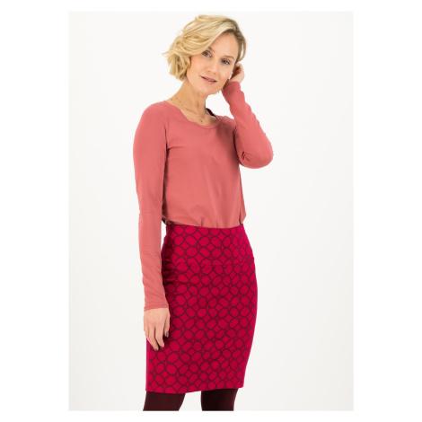 Podzimní bavlněná sukně červená Blutsgeschwister