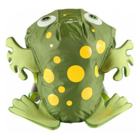 LittleLife dětský batoh Animal Swim Paks 10l green frog