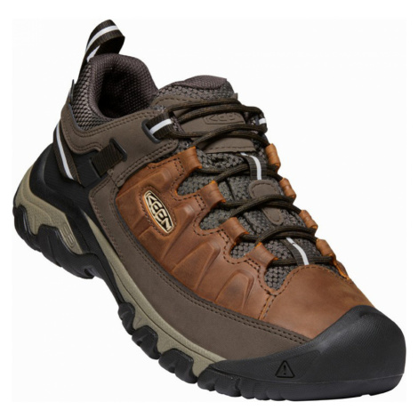 KEEN TARGHEE III WP M Pánská treková obuv 10012262KEN01 chestnut/mulch