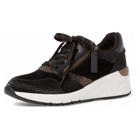 1-23702-27 Dámské boty 091 černá Tamaris