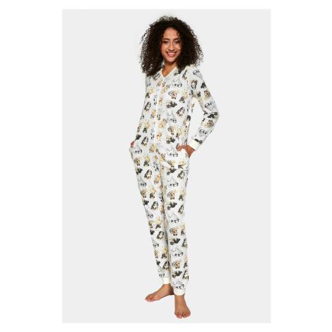 Dámský pyžamový overal Dogs vícebarevná Cornette