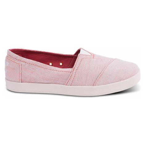 Toms Tangerine Yard Dye Avalon Slipon růžové 10009993