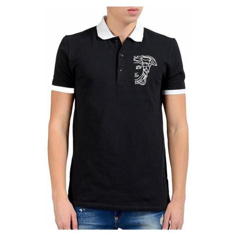 VERSACE COLLECTION Polo Nero tričko