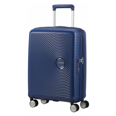 AT Kufr Soundbox Spinner Expander 55/20 Cabin Midnight Navy, 40 x 20 x 55 (88472/1552) American Tourister