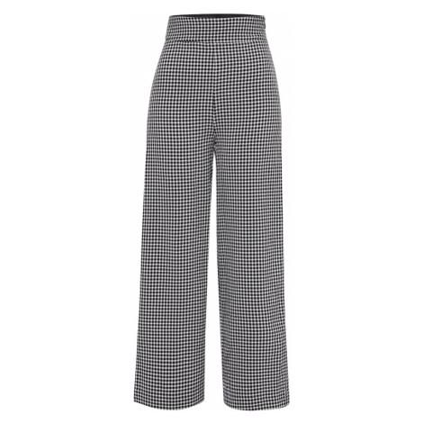 24COLOURS Kalhoty černá / bílá