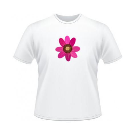 Pánské tričko na tělo Květina
