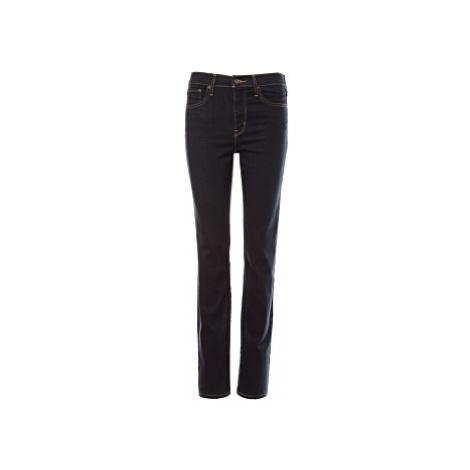 Levi´s® jeans 724 High Rise Straight dámské tmavě modré 27/34