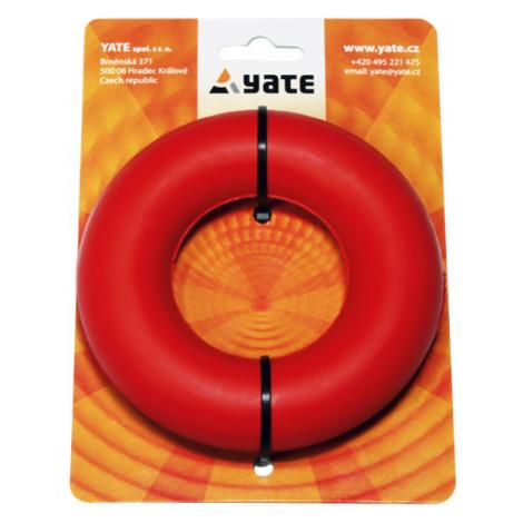 Posilovací kroužek YATE středně tuhý červený v blistru