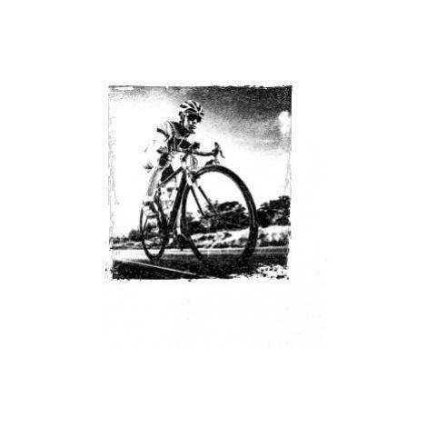 Cyklista černobílá cesta - Triko dámské Elegance