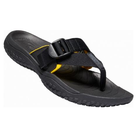Keen Solr toe post black/gold