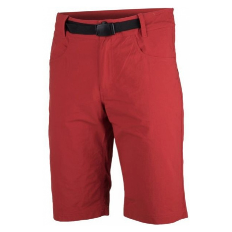 Northfinder GRIFFIN červená - Pánské šortky