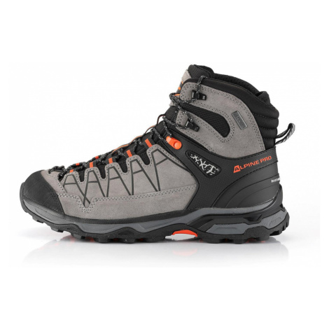 ALPINE PRO CASSIEL Unisex outdoorová obuv UBTS222774 šedá