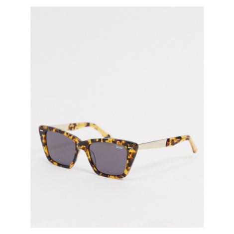 Quay Prove It womens cat eye sunglasses in tort-Brown Quay Australia