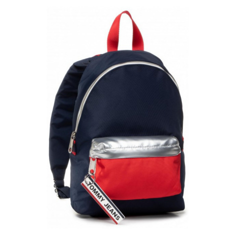Tommy Hilfiger Tommy Jeans dámský tmavě modrý batoh LOGO TAPE BACKPACK MINI