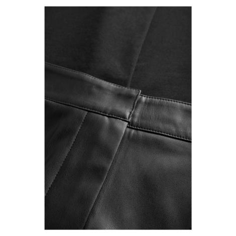 Kalhoty z ekokůže Orsay