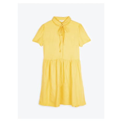 GATE Košilové šaty se zapínáním na knoflíky