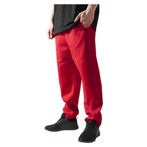 Tepláky Urban Classics Sweatpants - red
