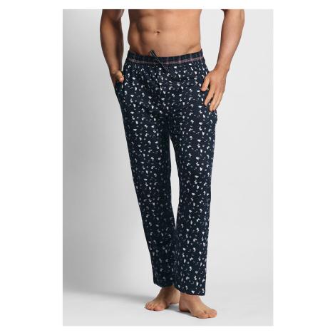 Pánské pyžamové kalhoty modré