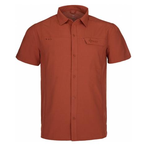 Pánská sportovní košile KILPI BOMBAY-M tmavě červená