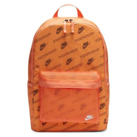 Batoh Nike Heritage 2.0 CK7444884 oranžová