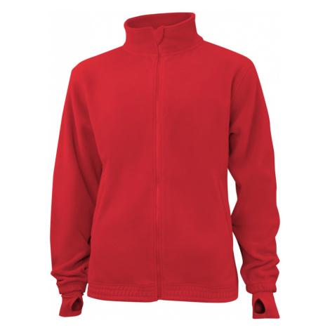 Pánská fleece JA - Červená