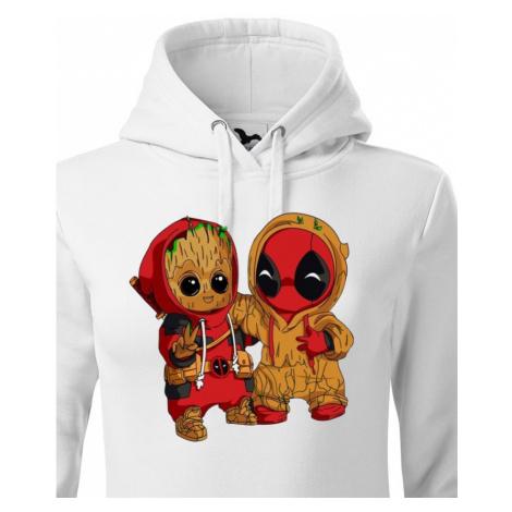 Dámská mikina Deadpool a Groot - super dárek BezvaTriko
