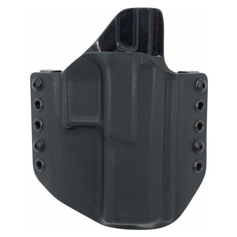 OWB CZ P-10 F - vnější pistolové pouzdro s polovičním SweatGuardem RH Holsters® – Černá