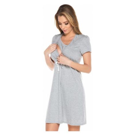 Dámská kojící košile Italian Fashion Radosc šedá   melanž