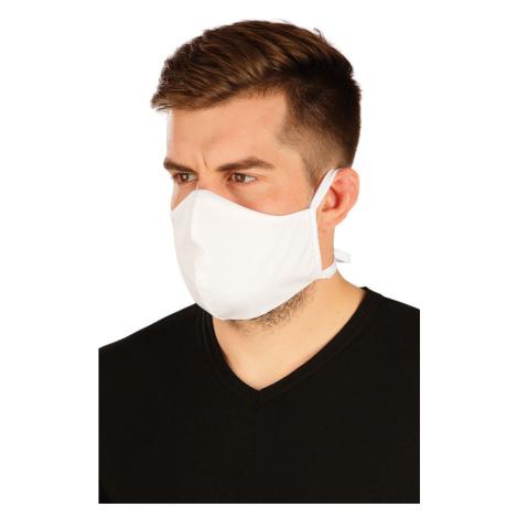 LITEX Rouška obličejová bavlněná 59911100 Bílá UNI